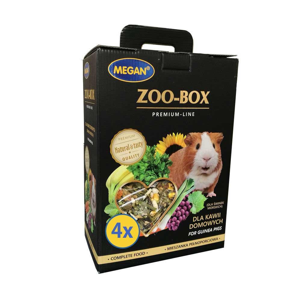 Duży Zoo Box dla świnki morskiej czteropak 4x520g